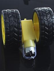 robots pneu + motoréducteur à courant continu