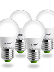 IENON® E26/E27 SMD 240-270 LM Warm White G60 LED Globe Bulbs AC 100-240 V