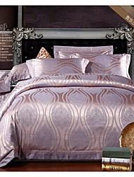 Duvet Cover Set,Jacquard Modal Cotton Bedding Set  High Grade Wedding Gift Luxury Bed Suite King Queen Size Bedding