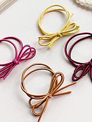 z&liens x® de cheveux de tissu à la main de style coréen (1 pc, couleur aléatoire)