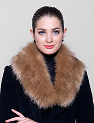 piel envuelve los abrigos de zorro de la moda de imitación caliente (más colores)