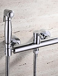 HPB chrome contemporaneo finitura ottone bidet rubinetto