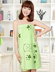 """Bath Towel, 4 Colors Bear Footprints 100% Micro Fiber Beach Towel 55""""*28"""""""