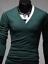 mode casual v cou élastique shirt citysailor hommes