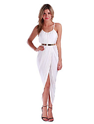Messic Women's Tie Sleeveless Dress