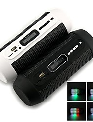 SPB60 Magic LED Bluetooth Portable Speaker with Radio SD AUX USB (4 mode for LED Lights)