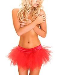 gaze multicolore spectacles de danse de la mode jupe tutu costume de carnaval