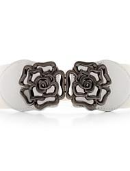 Women's Hollow Flower Decoration Belt