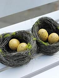 nid décoration de la maison de décoration décoration de mariage d'oiseau artificiel