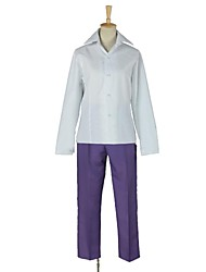 Inspiré par Psycho-Pass Shogo Makishima Vidéo Jeu Costumes Cosplay Costumes Cosplay Mosaïque Blanc Manche Longues Chemise / Pantalons