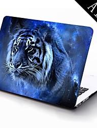 o projeto do tigre de corpo inteiro caixa de plástico de proteção para 11 polegadas / 13 polegadas novo Mac Book Air