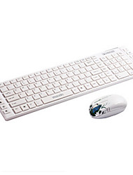 maxin 2.4ghz kit mini mouse teclado sem fio 1600dpi