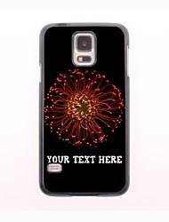 personalisierte Telefon-Fall - Löwenzahnentwurf Metallgehäuse für Samsung-Galaxie s5 Mini