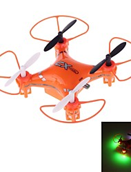 X023 Mini 2.4GHz 5-Channel 6-Axis R/C Quadcopter with Gyro and LED Light (Orange)