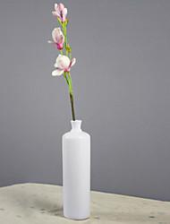 fausses fleurs d'orchidées PU, résine