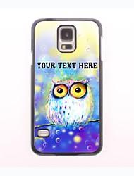 personalisierte Telefon-Fall - träumen die Eulenentwurf Metallgehäuse für Samsung-Galaxie s5 Mini