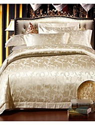 Duvet Cover Set,Jacquard Modal Cotton Bedding Set  High Grade Wedding Gift Luxury Bed Suite King Queen Size Bedding