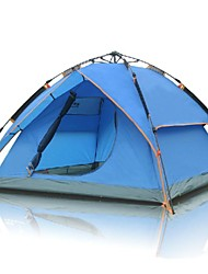 FlyTop ® 3-4 Person Rain-Proof Fold Tent Automatic Tent Double-deck 014