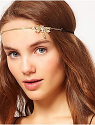Exaggerated Nightclub Rhinestone Dragonfly Headbands