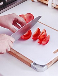 Environmental Protection Chopping Board,Plastic 32.5×21×2 CM(12.8×8.3×0.8 INCH)