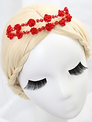 Women's/Flower Girl's Crystal/Alloy Headpiece - Wedding/Special Occasion Tiaras/Headbands/Flowers/Wreaths