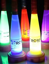 Wine Bottle LED Night Light Lamp (Random Color)