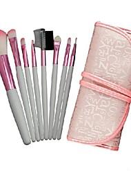 Professional Makeup Brush Set with 8Pcs Brushes