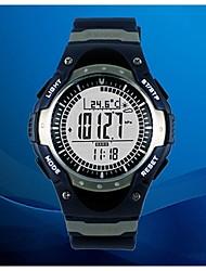 Sunroad relógio esportivo fr826a para outdoor equipe alpinista, altímetro, barômetro, bússola, pedômetro e data etc