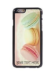 caso de telefone personalizado - pão caso design de metal para o iPhone 6
