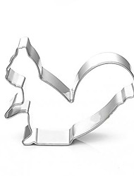 Cartoon Squirrel Shape Cookie Cutters, Fuirt Cut Moulds, Stainless Steel