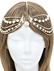 Shixin® Fashion Tassel Pearl Alloy Headbands(1 Pc)