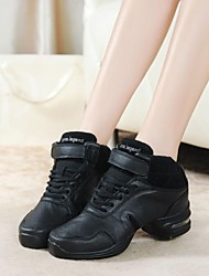 Dance Sneakers Women's Split Sole Low Heel Leather Dance shoes (More Colors)