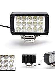 dy-wf45f 45w 3375lm 6000K 15-CREE LED weißes Licht Flutstrahl Geländelampe (10-30 V DC, schwarz)