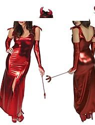 jour de pâques rouge diable pu cosplay femmes Costumes d'Halloween
