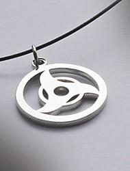 Naruto Uchiha Itachi Kaleidoscope Steel Cosplay Necklace