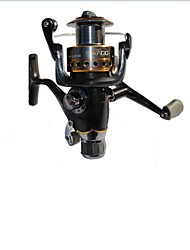 Black 0.5/100 Carp Fishing Spinning Reel