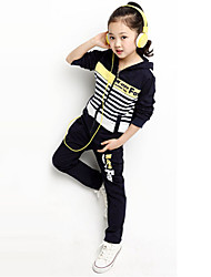 Children's Leisure Thickening Long Sleeve Clothing Set