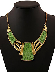Women's Vintage Alloy Fashion Geometric Party Gift Necklace