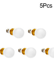 5W E26/E27 LED Glühlampen 1 150 lm RGB AC 85-265 V 5 Stück