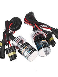 2pcs H11 35W 6000K HID Xenon Replacement Bulb Lamps Light Conversion Kit Car Head Lamp Light
