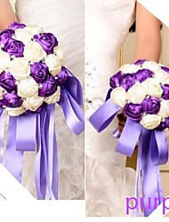 fleurs bouquet de mariée bijoux bouquet (plus de couleurs)