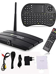 Android 4.2.2 TV BOX RK3188-T Quad Core 1.6GHZ Cortex-A9 Mini PC 2GB+8GB Camera 200W with Air Mouse/Keyboard General
