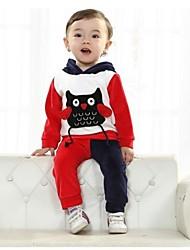 Primavera conjunto infantil e manga longa Outono define conjunto baby baby roupas duas peças conjuntos conjuntos de bebê