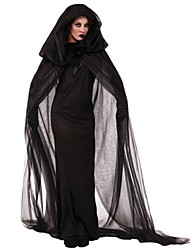 Easter Day Black Polyester Devil Cosplay Women Demon Halloween Costumes