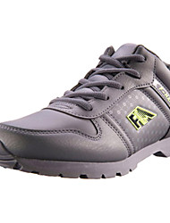 Men's Sneaker Shoes Fabric Black/Brown/Gray