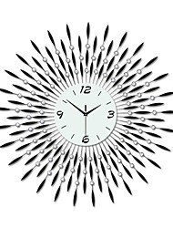 Modern Large Size Round Iron Wall Clock