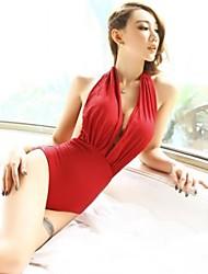mode sexy dos nu rouge maillots de bain maillot de bain une pièce maillots de bain maillot de bain des femmes