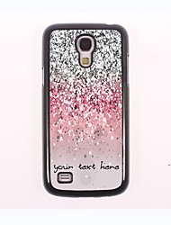 Personalized Phone Case - Shimmering Powder Design Metal Case for Samsung Galaxy S4