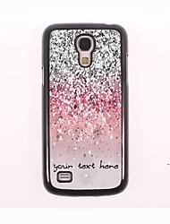 персонализированные телефон случае - мерцающий металлический порошок дизайн корпуса для Samsung Galaxy S4