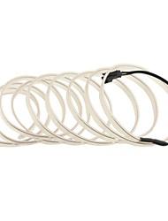 auto carro 2m de comprimento 7 milímetros de diâmetro flexível el tira neon fio incandescente rope- (12v)